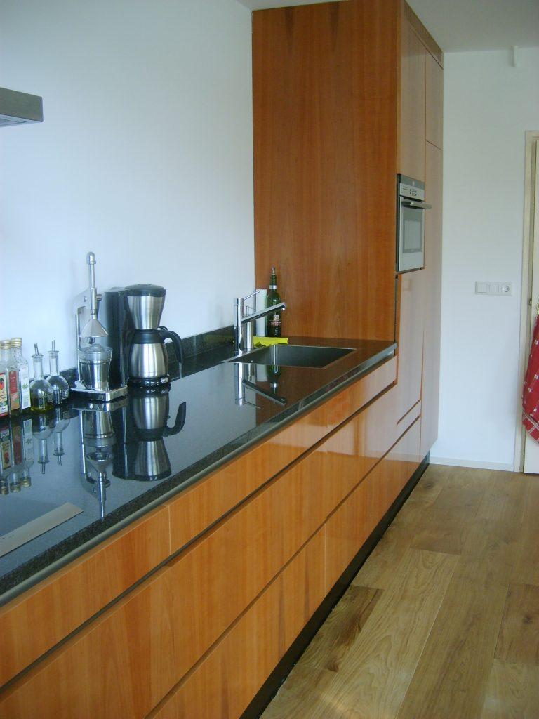 Peren keuken, modern