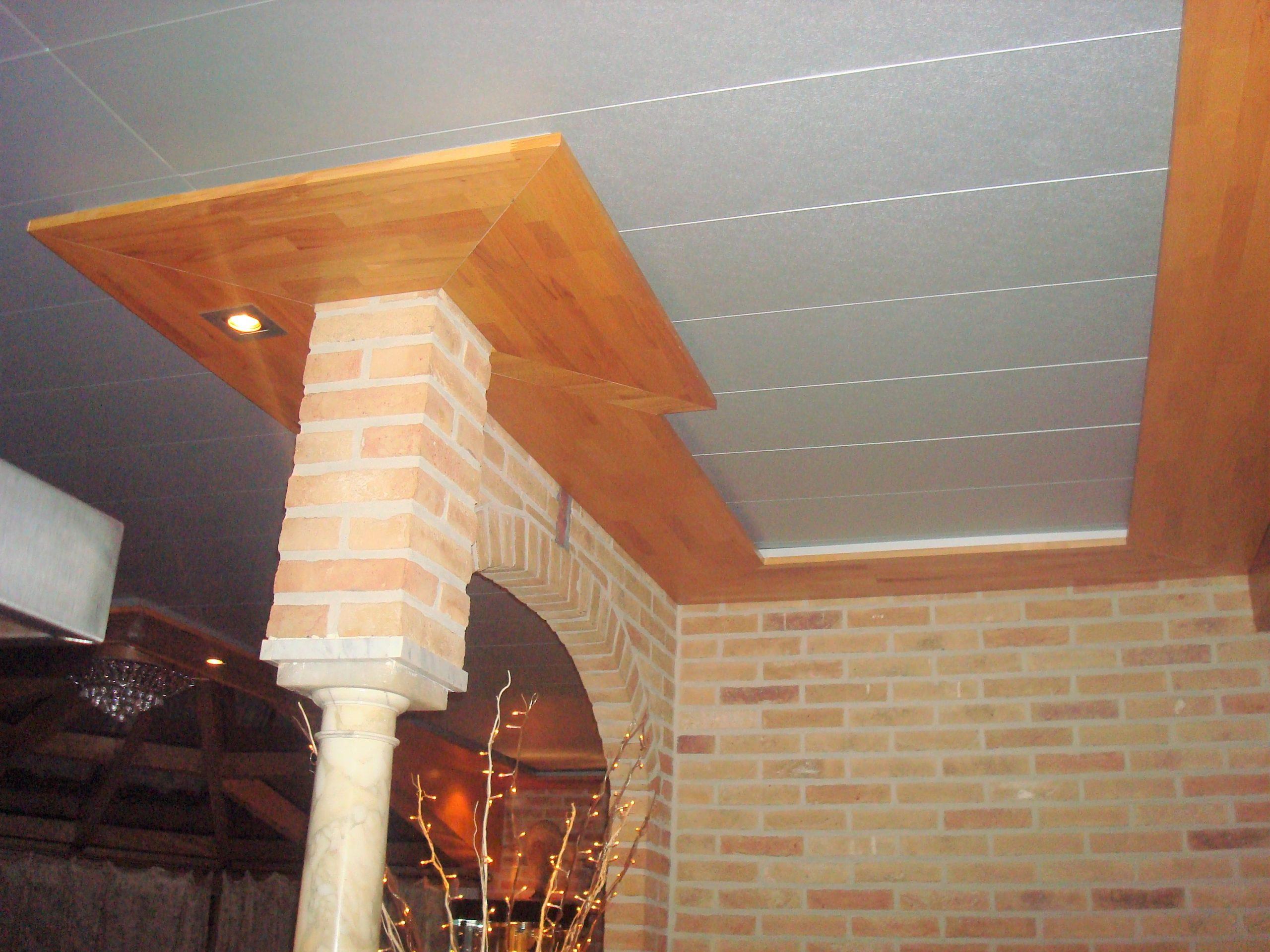Eiken deurkozijnen & plafond