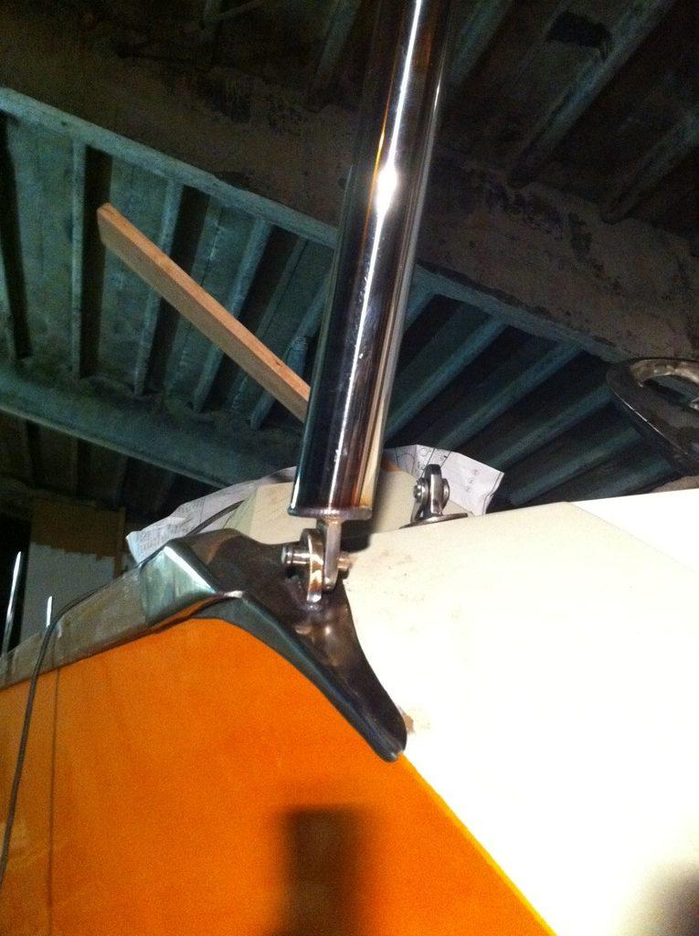 RVS sierwerk zeilboot