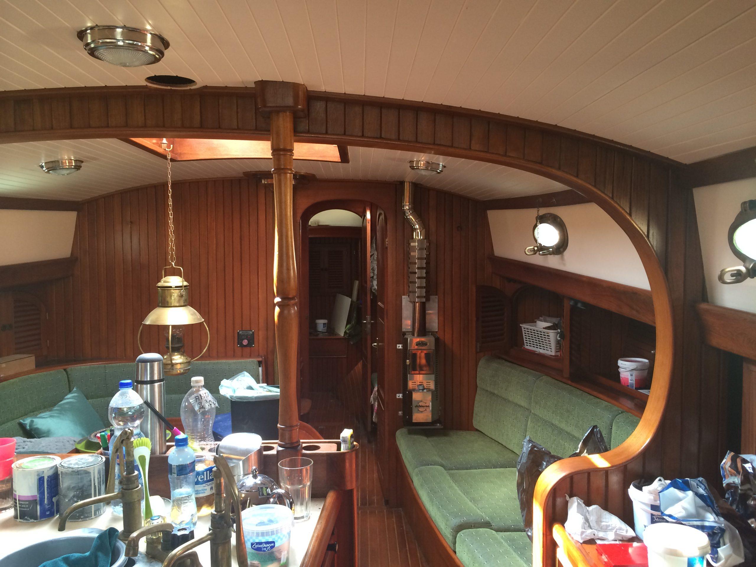 Restauratie Hans Christiansen yacht
